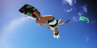 Kitesurf kiteboarding kitesurfing kiteboard women kitesurfer sport photo of the day image images photography Susi-Mai-owen-buggy-photography