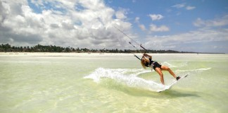 Kitesurf kiteboarding kitesurfing kiteboard women kitesurfer sport photo of the day image images photography Triina Trei