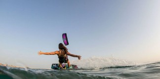Kitesurf kiteboarding kitesurfing kiteboard women kitesurfer sport photo of the day image images photography