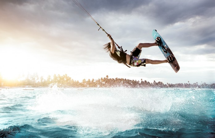 Kitesurf kiteboarding kitesurfing kiteboard women kitesurfer sport photo of the day image images photography Shayne Thomas Photography avec Jan Jay Will
