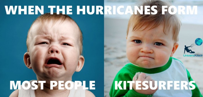 When-hurricane-come-kitesurf funny fun baby univers kite Kitesurf kiteboarding kitesurfing kiteboard women kitesurfer sport photo of the day image images photography