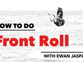How to do a Front Roll in Kitesurfing clips kiteboarding kitesurfing kite surfing kiteboard movie video