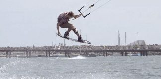 How To Do Half Loaded Grabs in Kitesurfing clips kiteboarding kitesurfing kite surfing kiteboard movie video