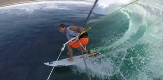 Rob's Kitesurfing WIPEOUTS clips kiteboarding kitesurfing kite surfing kiteboard movie video