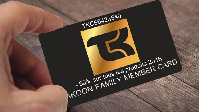 Family Takoon card card coupon sponsor sponsorship code 2016 price reduction family member member number kite kiteboard