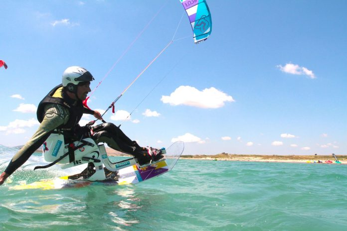 Kitesurf kiteboarding kitesurfing kiteboard women kitesurfer sport photo of the day image images photography International Federation of Kitesports Organisations - IFKO