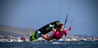 Kitesurf kiteboarding kitesurfing kiteboard women kitesurfer sport photo of the day image images photography Soraya Bonfim