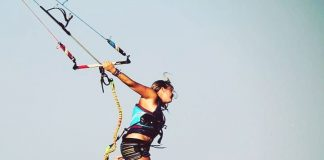 Kitesurf kiteboarding kitesurfing kiteboard women kitesurfer sport photo of the day image images photography kite surf aina-renolen-kiteboarding