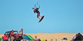 Kitesurf kiteboarding kitesurfing kiteboard women kitesurfer sport photo of the day image images photography kite surf fer-miller