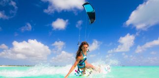 Enjoy the most Beautiful and Breathtaking Places in the World for Kiteboarding World's Most Beautiful Landscapes for kitesurfing, from all over the world: Hawaii, Turks and Caicos Islands, Australia, British Virgin Islands, Cook Islands, Fiji, Necker Island, Brazil, Cape Town, Cayman Islands.